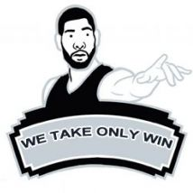 WE TAKE ONLY WIN