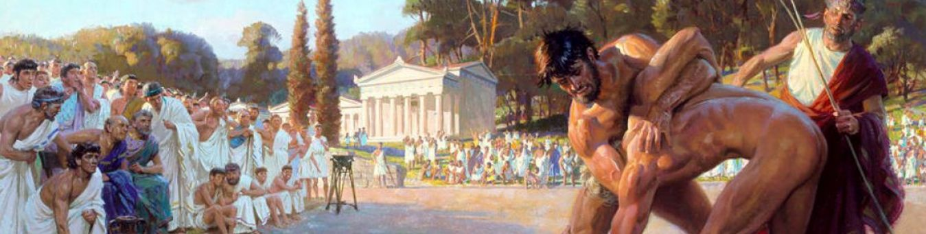 Ancient Greek Olympics - the first Olympic Games in Greece