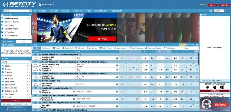sport betcity ru com