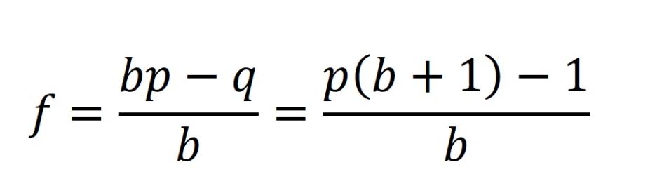 kelly-formula